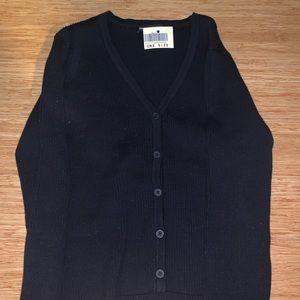 brandy melville shannon navy sweater